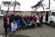 ورزشکاران بومی محلی آذربایجان از آستارا وارد ایران شدند