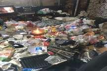 جمع آوری 6 کامیون زباله در واحد مسکونی در فردیس البرز