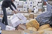 کشف بیش از چهار میلیارد ریال کالای قاچاق در 2 شهرستان فارس