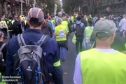 سی و هفتمین شنبه اعتراضی در فرانسه+ تصاویر