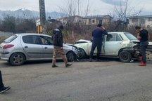 تصادف در گیلان یک فوتی و هفت مصدوم بر جا گذاشت