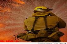 آتش سوزی در پتروشیمی رجال، مهار شد