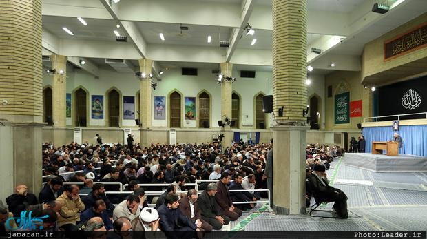 مراسم سوگواری مولای متقیان امام علی(ع) با حضور رهبر معظم انقلاب برگزار شد