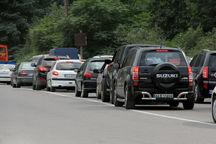 راههای مازندران در محاصره ترافیک خودروها