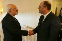 دیدار ظریف با وزیر خارجه کرواسی