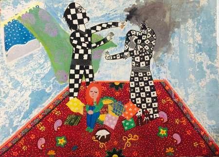 کسب مقام سوم جهانی نقاشی توسط دانش آموز خوزستانی