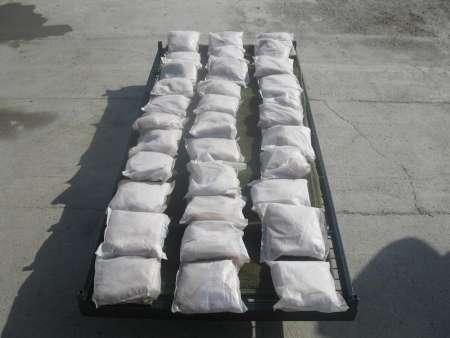 افزون بر یک تن انواع مواد مخدر در جنوب سیستان و بلوچستان کشف شد