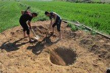 15 حلقه چاه غیرمجاز در قاینات مسدود شد