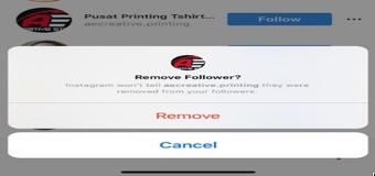 قابلیت جدید در اینستاگرام/ حذف دستی فالوورهای مزاحم