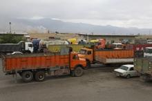 کامیونداران شاهرودی حل مشکلاتشان را خواستار شدند