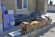 افزونبر ۲۵ میلیارد ریال کالای قاچاق در نیکشهر کشف شد