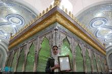 مراسم تجلیل از خانم یوکاوت گیدائیان توسط کمیته ادیان الهی ستاد بزرگداشت امام خمینی(س)