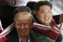 شوخی هواداران تیم ملی با ترامپ و پوتین! + عکس