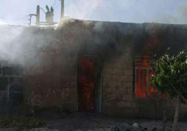 آتش سوزی در جغتای جان یک نفر را گرفت