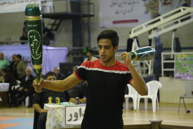 رقابت های ورزش های زورخانه ای کشور در مریوان پایان یافت