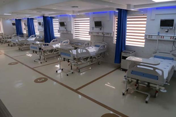 بیمارستان صحرایی پدافند هوایی سمنان در معمولان مستقر شد