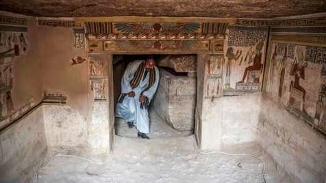کشف حیوانات مومیایی در مصر باستان + تصاویر