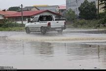 بارش باران باعث آبگرفتگی و کندی تردد در آستارا شد
