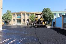 حیاط 59 مدرسه استان سمنان امسال با 10 میلیارد ریال اعتبار آسفالت شد