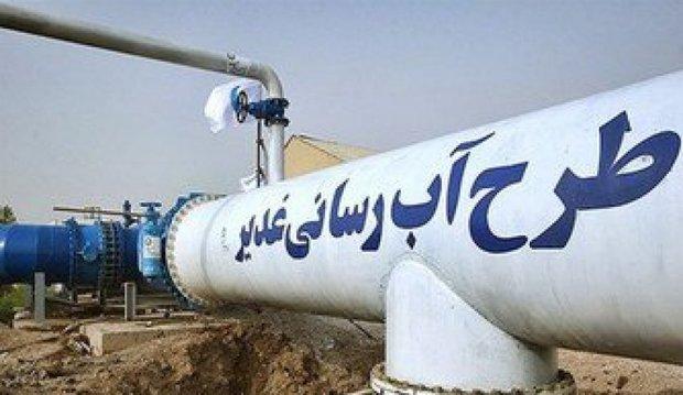 سهمیه آبادان از آب غدیر در هفته آینده کامل می شود