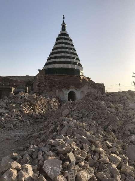 یک اثر ملی تاریخی در کهگیلویه و بویراحمد تخریب شد