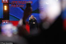 پوتین رسما اعلام پیروزی کرد+ تصاویر/ همان مسیر پرقدرت گذشته را ادامه دهیم
