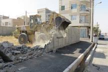 یک قطعه زمین دولتی در آبیک رفع تصرف شد