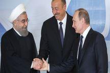 دیدار روسای جمهوری ایران، روسیه و آذربایجان به میزبانی روس ها