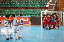 تیم های صعود کننده فوتسال امید کشور در اردل مشخص شدند