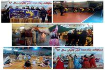 تیم های برتر مسابقات هفت سنگ زنان استان تهران معرفی شدند