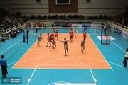 قهرمانی تیم والیبال هنگ مرزی تایباد در مسابقات جام رمضان