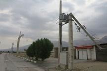 سیل 98 میلیارد ریال به شبکه برق رسانی سمنان خسارت زد