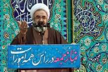 امام جمعه مراغه: آمریکا به دنبال تامین امنیت رژیم صهیونیستی در منطقه است