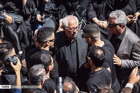 """سیروان و زانیار خسروی در مراسم تشییع پیکر """"بهنام صفوی""""+ عکس"""