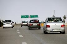 ترافیک محور تهران- مشهد در محدوده سمنان پرحجم و نیمه سنگین است