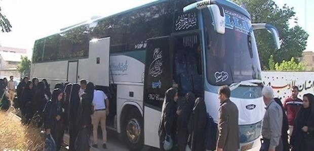 نیکوکاران جهرم به افراد نیازمندبرای اعزام به مشهد کمک کردند