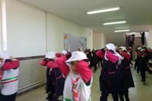 مانور زلزله در مدارس شهرستان دماوند برگزار شد