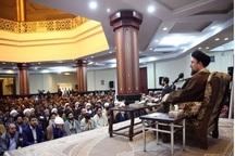 تقدیر سید حسن خمینی از رقم زنندگان پیروزی بر داعش  همه جا باید مقابل ظلم و ظالم ایستاد