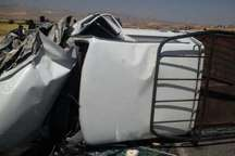 تصادف مزدا با پراید در جاده یاسوج - اصفهان پنج مصدوم برجای گذاشت