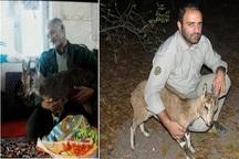 دوستداران محیط زیست بز وحشی را نجات دادند