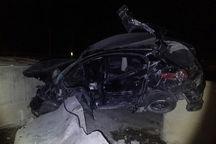 ۲ تصادف در شرق گلستان یک کشته و ۱۱ مصدوم داشت