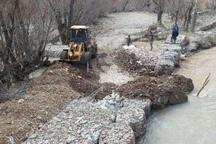 51 هکتار از اراضی بستر رودخانه ها در کردستان رفع تصرف شد