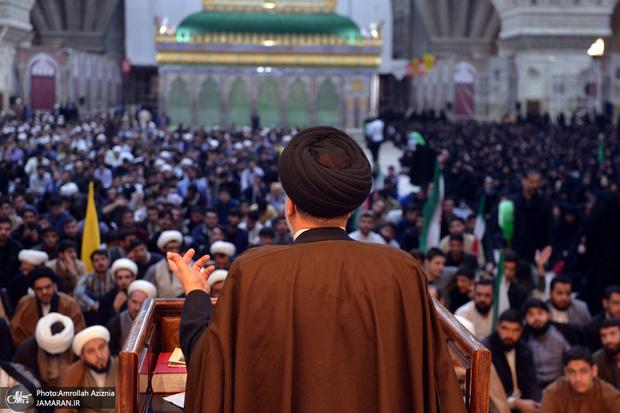 تجدید میثاق روحانیون و طلاب حوزه علمیه تهران با آرمان های حضرت امام(س)