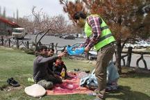 10 هزار کیسه جمع آوری زباله در مهریز توزیع شد