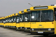 استفاده اتوبوس های شهری رشت به مدت سه روز رایگان است