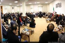 دیدار جمعی از شاعران کشور با سید حسن خمینی
