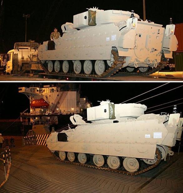 هدیه آمریکا به ارتش لبنان + تصاویر