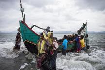 فرار مسلمانان میانمار از این کشور همچنان ادامه دارد/ خطر بحران جدید در مرز بنگلادش با میانمار