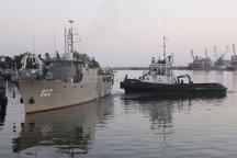 رزمایش دریایی امنیت پایدار در دریای خزر آغاز شد