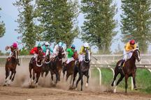 هفته دوم مسابقات اسبدوانی کورس بهاره گنبد برگزار شد